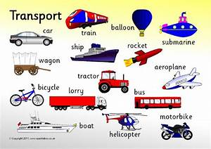 Printable Transportation Chart For Teachers - Printable ...