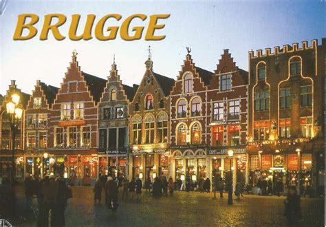 A Journey of Postcards: Historical city centre of Bruges ...