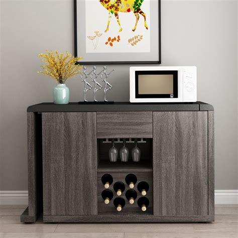 luxury modern extendable kitchen sideboard buffet table