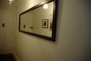 Handmade Long Hallway Mirror by Wooden-It-Be-Nice