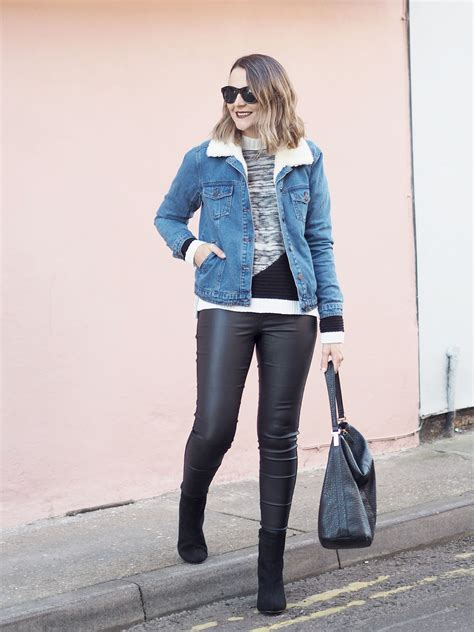 How to wear the Denim Jacket for Winter - Bang on Style