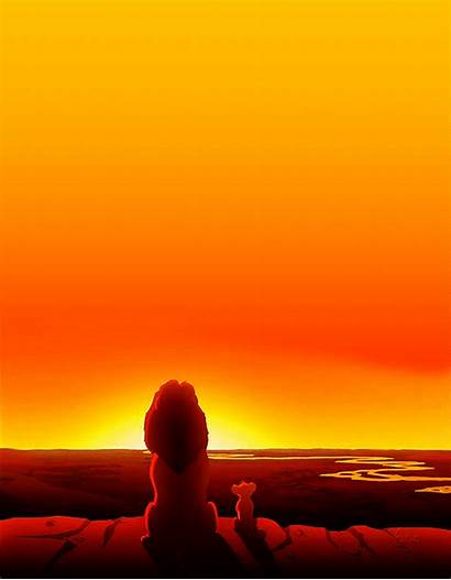 Lion King Simba Mufasa Cartoon Drive Night
