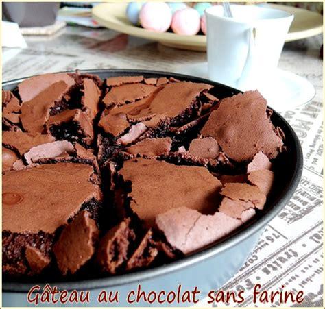 cuisine sans farine gâteau au chocolat sans farine blogs de cuisine