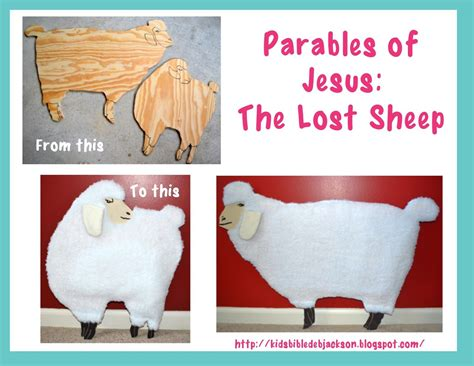 parables of jesus vbs the lost sheep the b i b l e 804 | 74badd350b8bb77ed8e1f884dc9638fc