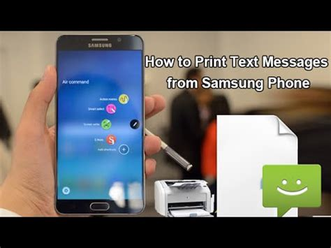 how to print from samsung phone how to print text messages from samsung phone