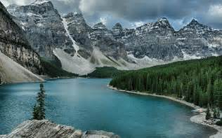 Canada Moraine Lake Banff National Park Night