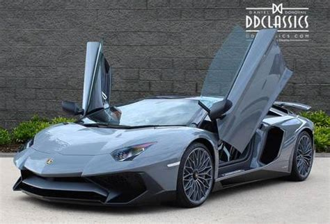 lamborghini aventador sv roadster for sale uk 2017 lamborghini aventador lp750 4 sv roadster vat qual rhd for sale car and classic