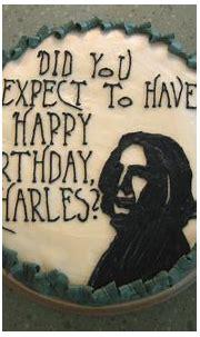Severus Snape Birthday Cake - The-Leaky-Cauldron.org The ...