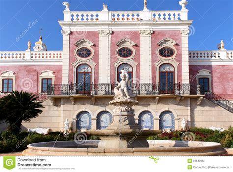 palace  estoi fountain  work  romantic architecture