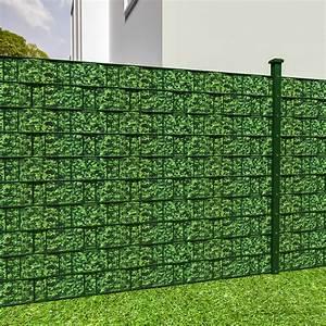 Sichtschutz Für Doppelstabmatten : pvc sichtschutz streifen sichtschutzfolie doppelstabmatten zaun schutz 35m buchs ebay ~ Orissabook.com Haus und Dekorationen