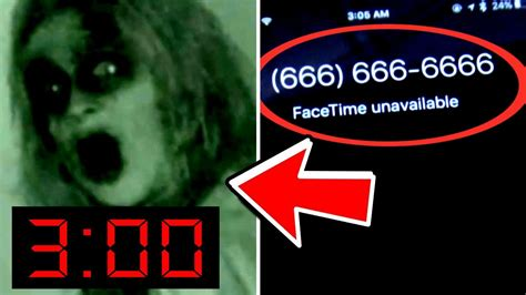 666 666 phone number what happens when you facetime 666 at 3am cursed phone