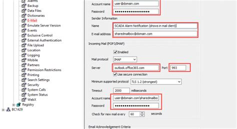 Office 365 Outlook Gmail Settings by Clearscada Du5tin