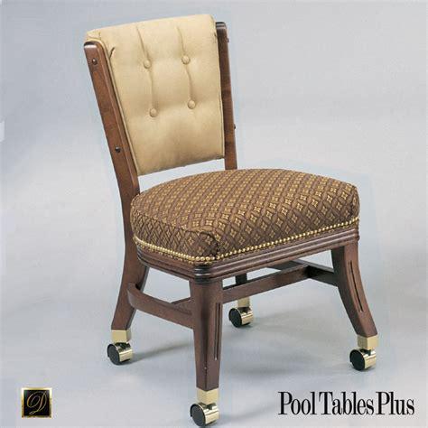 armless club chair  casters