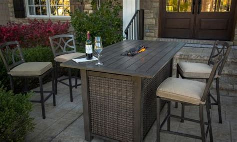 bar height patio table with fire pit 4 party photos of my favorite bar height fire pit table
