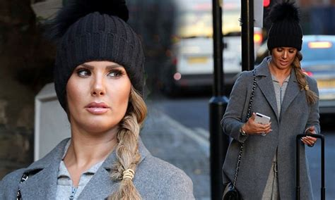 Rebekah Vardy spotted with suitcase headed for Heathrow ...