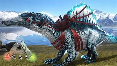 Spinosaurus Ark Survival Evolved Super Hielo