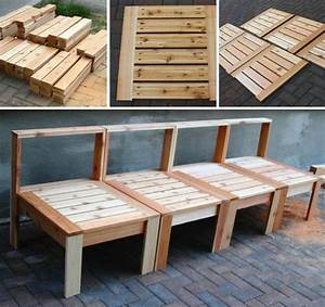 astounding how to build outdoor furniture with pallets pvc With build a recliner