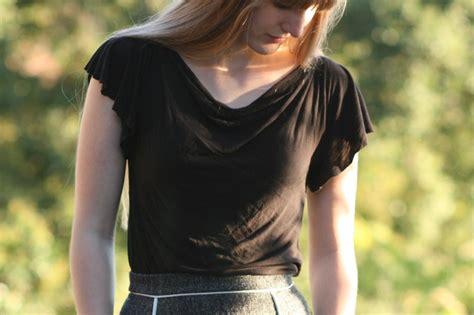 Draped Shirt Pattern - how to make a draped t shirt one avian daemon