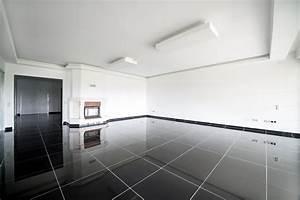 Decoration Led Interieur : carrelage noir nos conseils d co ~ Teatrodelosmanantiales.com Idées de Décoration
