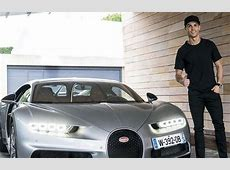 Wow, Madrid Superstar Adds another Bugatti to His Luxury