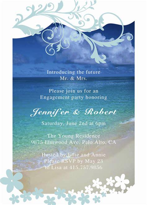 engagement party invitation affordable  unique