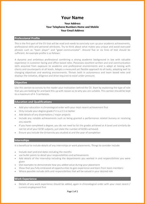 10 curriculum vitae template for graduate school odr2017