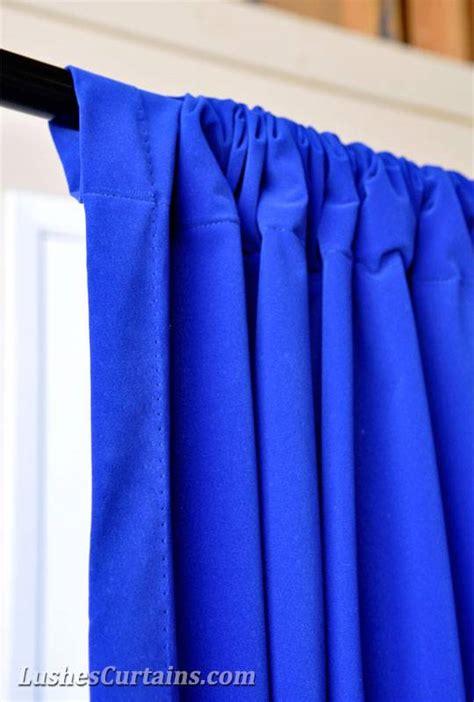 royal blue drapes curtains 72 inch h royal blue velvet curtain panel rod pocket