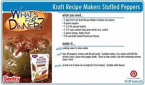 Kraft Recipe Makers Stuffed Peppers