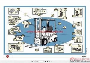 Tcm Fg25 Forklift Parts Manual