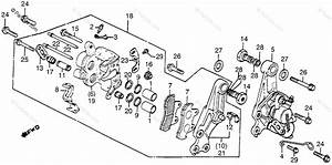 Honda Motorcycle 1983 Oem Parts Diagram For Front Brake