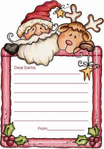 Xmas coloring pages for Santa letter writing paper