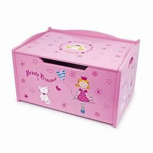 Coffre Jouet Bebe : coffre jouets princesse en bois ~ Preciouscoupons.com Idées de Décoration