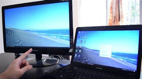 conectar pantalla extra a tu laptop con este truco windows 10 youtube