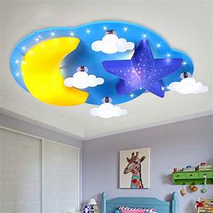 The boy led children s room bedroom ceiling lamp warm