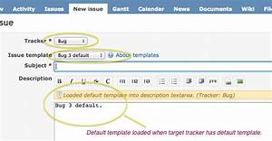 issue templates redmine redmine jenkins With redmine templates