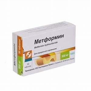 Лекарство от диабета метформин отзывы