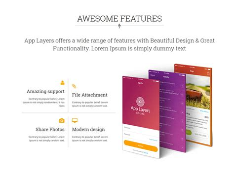 App Download Html5 Template by Free Responsive Bootstrap App Landing Html5 Template