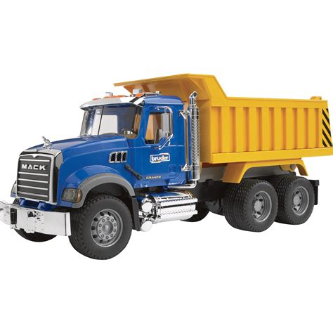 Bruder Mack Granite Dump Truck  116 Scale, Model# 02815