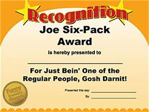 funny certificates for employees templates - funny employee awards has office party ideas for tighter
