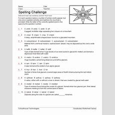 Compare Editions  Vocabulary Worksheet Factory