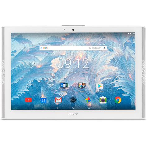 acer iconia one 10 b3 a40 acer iconia one 10 b3 a40 k0k2 blanc tablette tactile