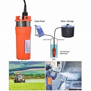 Pompe Eau Puit : 1 2 12v pompe submersible de puits profond pompe l 39 eau ~ Edinachiropracticcenter.com Idées de Décoration