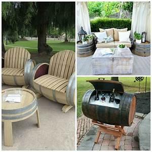 Coole Outdoor Möbel : weinfass stehtisch diy m bel holzfass m bel selber machen diy und selbermachen pinterest ~ Sanjose-hotels-ca.com Haus und Dekorationen