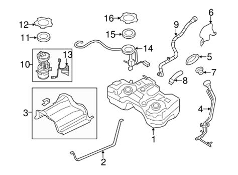 Fuel System Components For Nissan Rogue Coulterparts