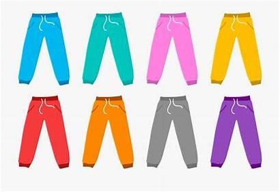Pants Clipart Trousers Shirt Jeans Jogging Cartoon