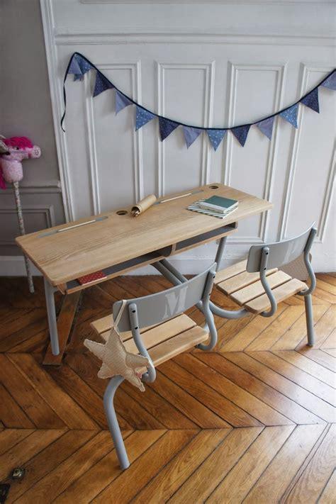 bureau pupitre enfant pupitre vintage bureau chambre enfant fanion