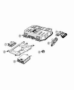 2017 Chrysler Pacifica Battery Kit  Hybrid   Phev