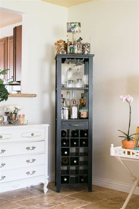Small Home Corner Bar by Barnes Orange County Home Tour Our House
