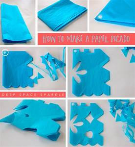 how to make a papel picado deep space sparkle With papel picado template for kids