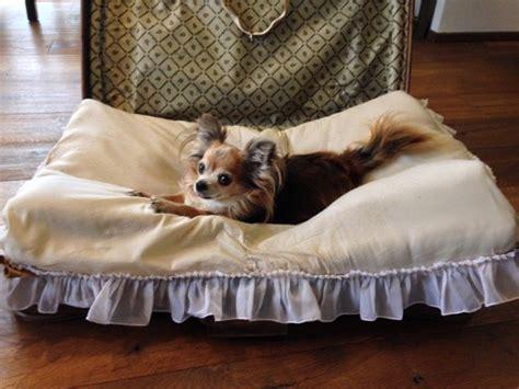 hundebett selber bauen ᐅ hundebett selber machen aus einem alten koffer